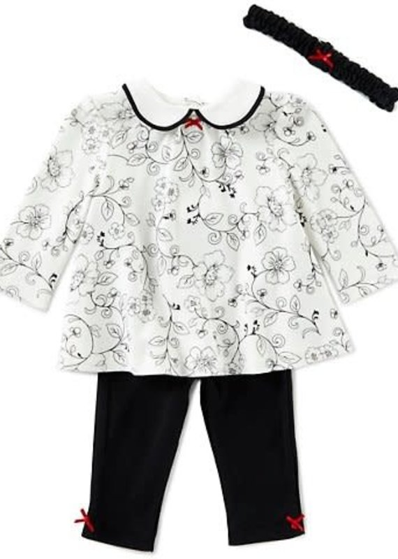 Little Me Rose Vine Toile Set-9M