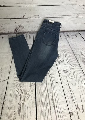 Jerell Clothing Company 5 Pocket Jeans-Medium Indigo