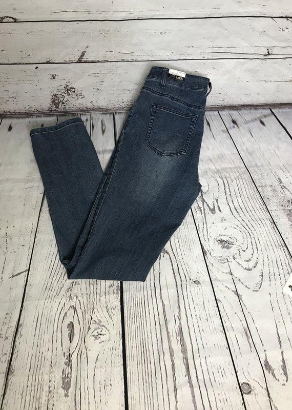 Multiples 5 Pocket Jeans-Medium Indigo