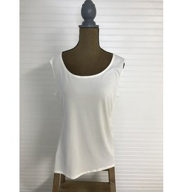 Richmar Fashions Plus Ivory Basic Tank