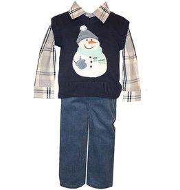 Bonnie Jean Boy Snowman set