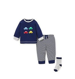 Little Me Fun Cars Jogger Set