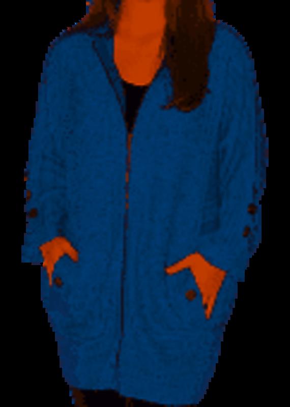 Simply Noelle Arrowhead Zip Jacket- S/M