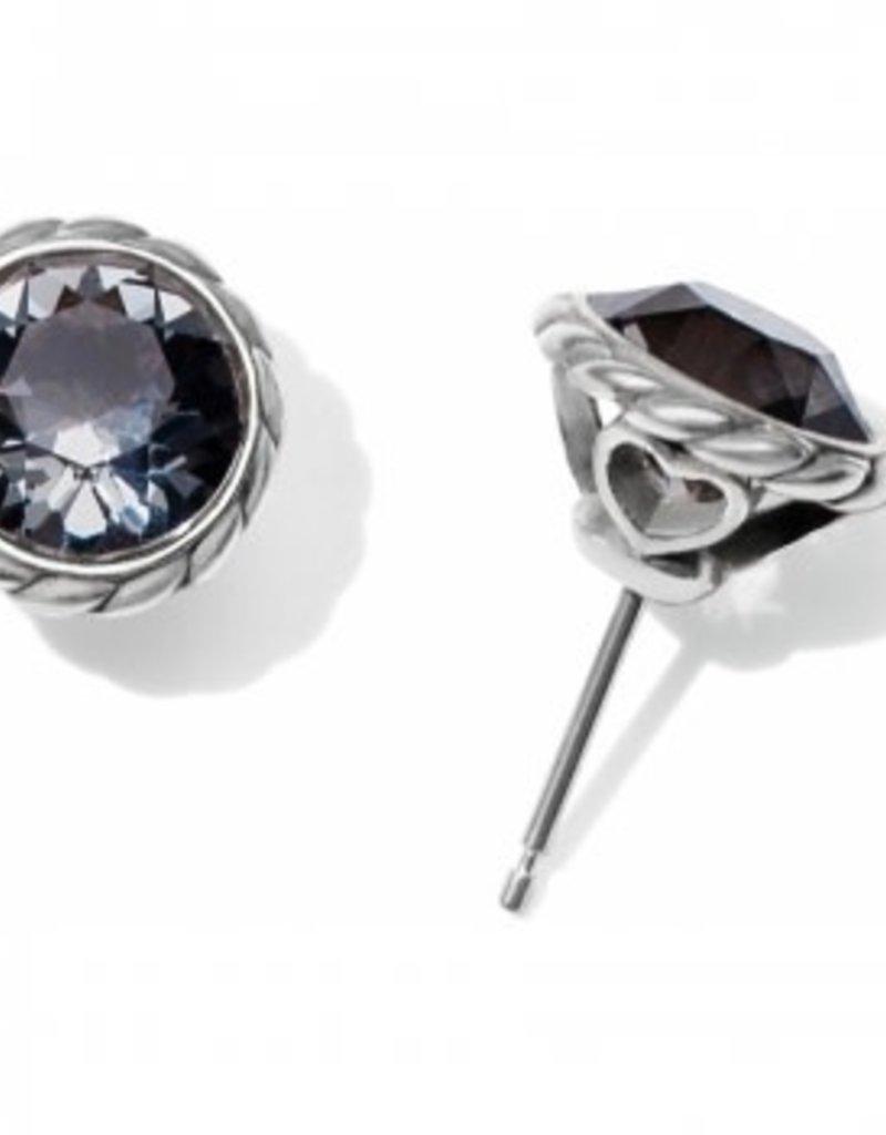 Brighton Blk Diamond Iris Stud