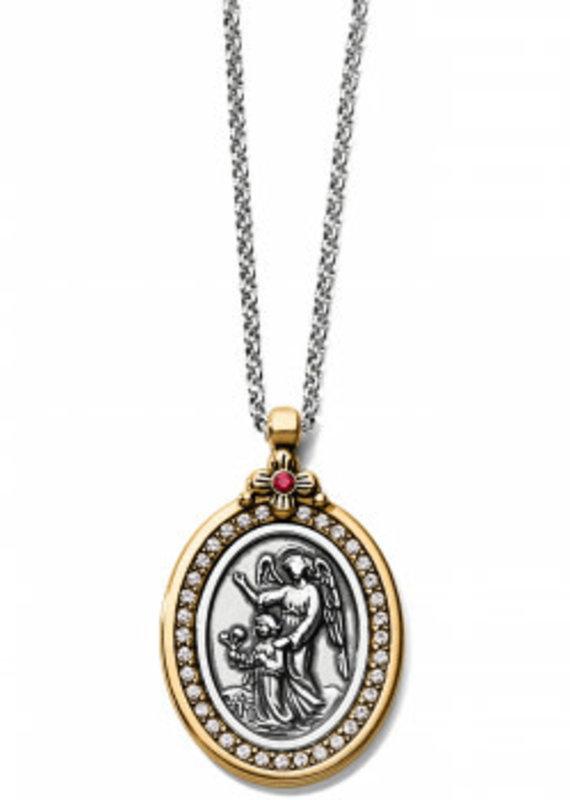 Brighton Guardian Angel 2Tn Necklace