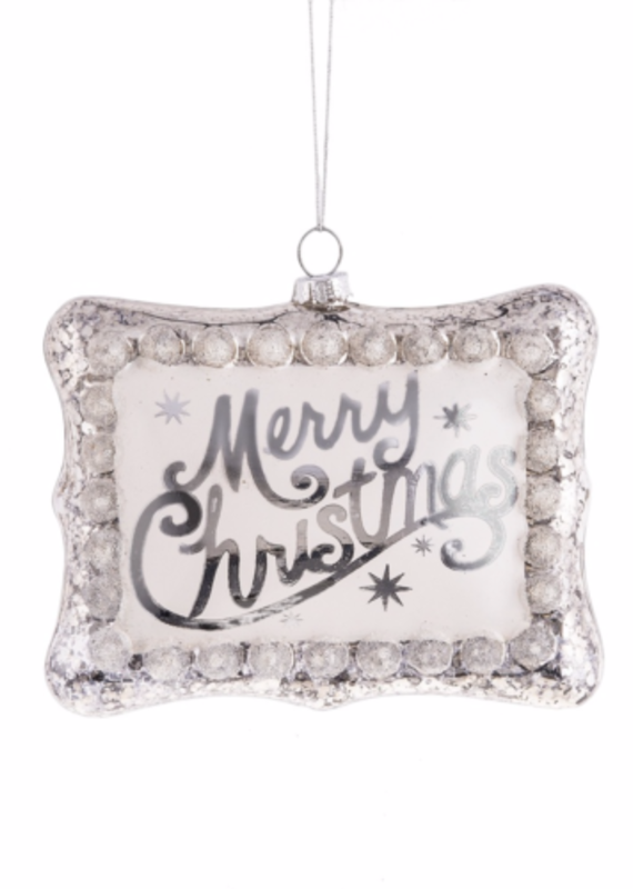 """Midwest-CBK """"Merry Christmas"""" Ornament"""