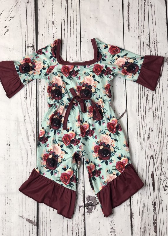 Clover Cottage Girls Rompers