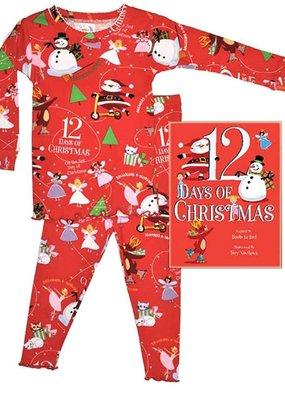 Books To Bed 12 Days Pajama set