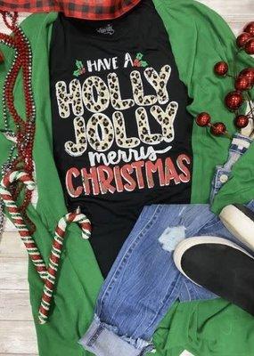 Texas True Threads Holly Jolly Merry Christmas