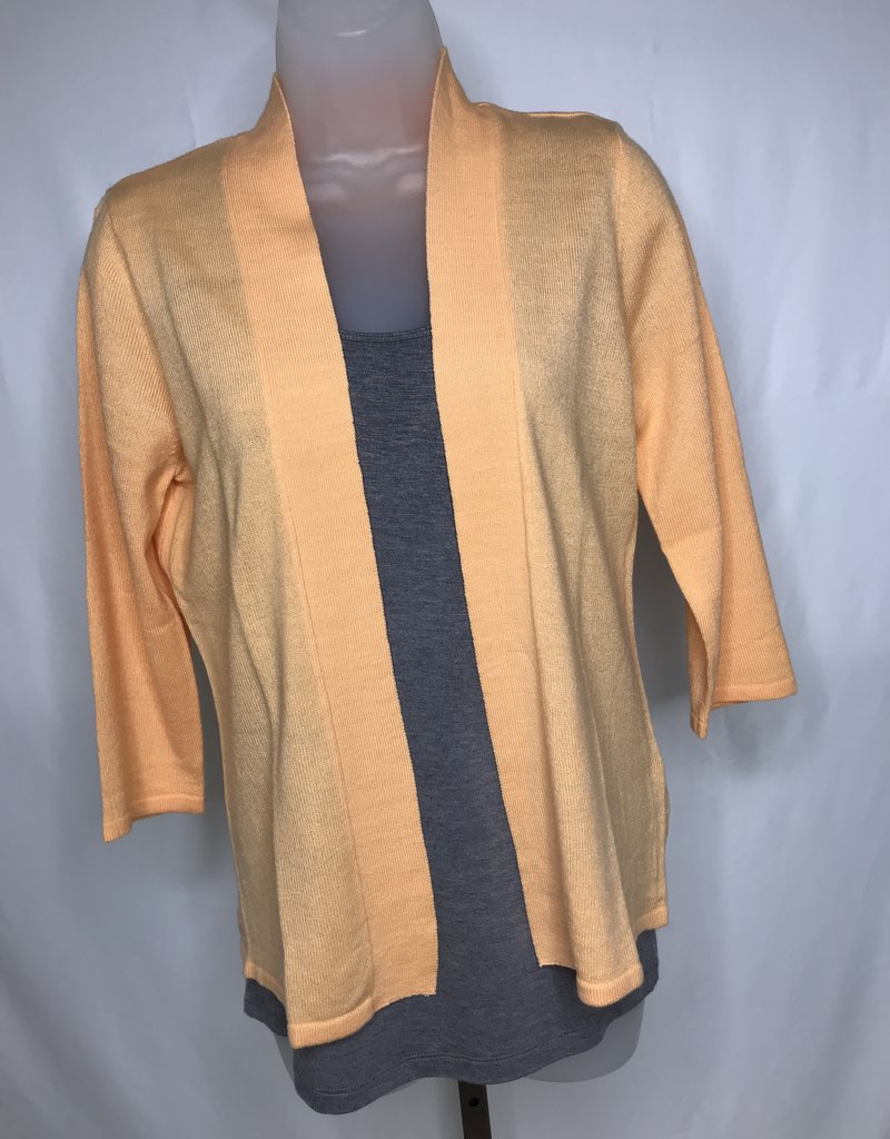 Simply Noelle 3/4 Sleeve Open Front Cardigan
