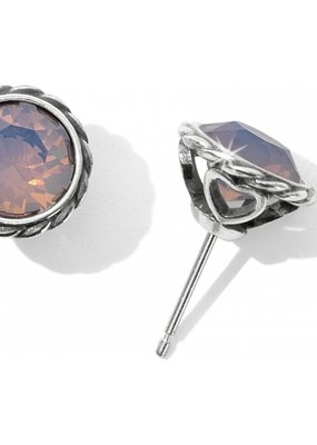 Brighton Rose Wtr Opal Iris Stud Earring