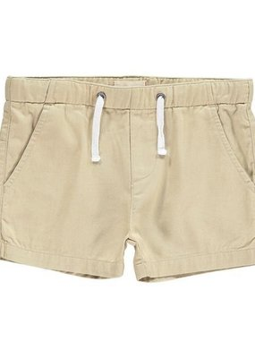 Me & Henry Woven Shorts Stone 4-5Y