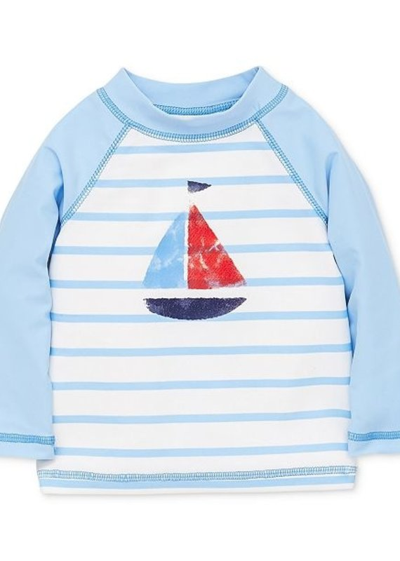 Little Me Sailboat Rashguard