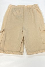 Wes N Willy Blended Cargo Shorts-Khaki