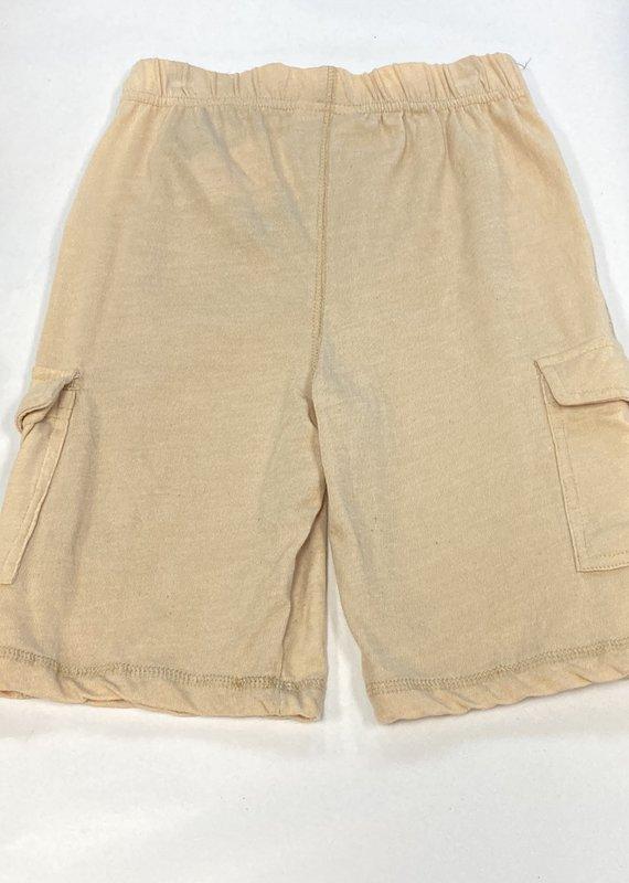 Wes N Willy Blended Cargo Shorts-Khaki