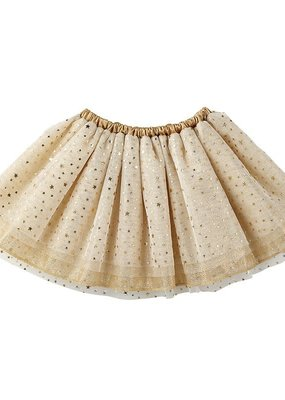 Stephan Baby Gold Tulle Tutu-6/18M