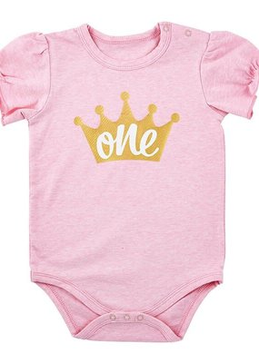 Stephan Baby One Crown Snapshirt-6/12M