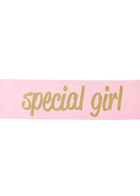 Stephan Baby Pink Special Girl Sash