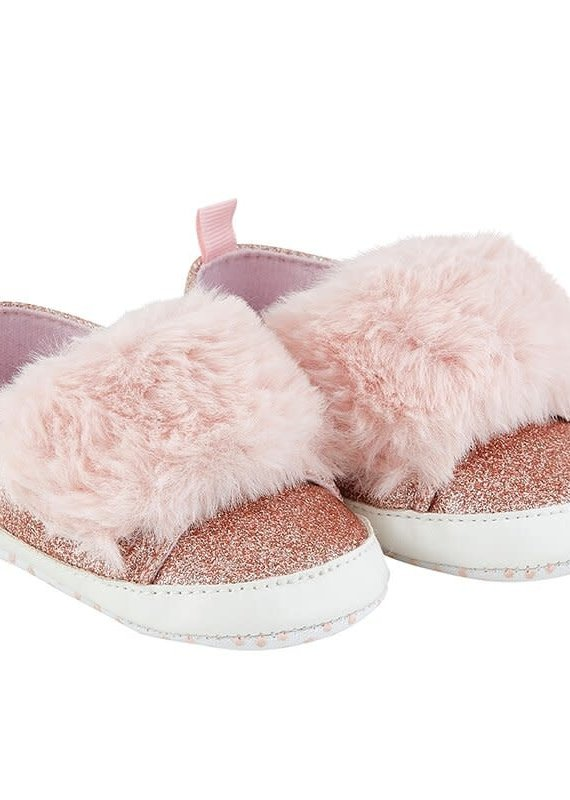 Stephan Baby Fur Shoe-6/12M