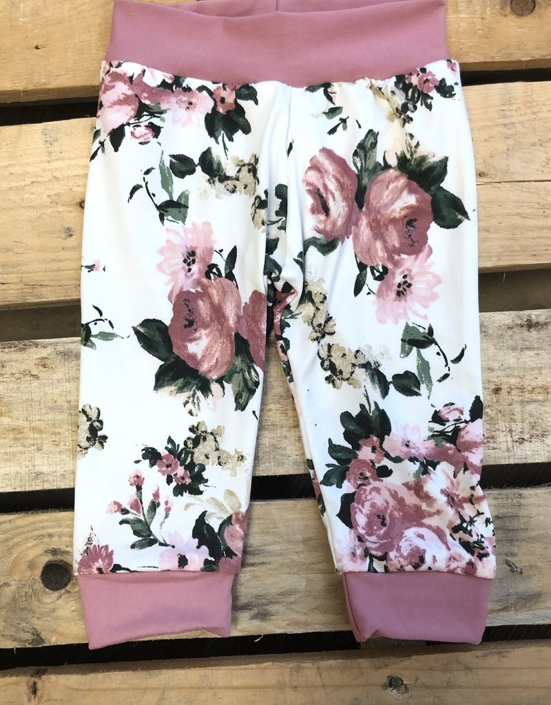 Jena Bug Baby Annie Floral Joggers