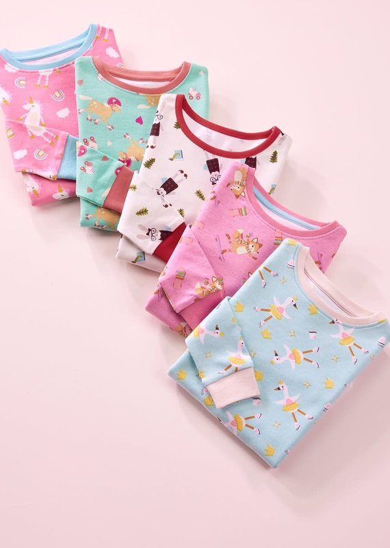 GiftCraft Inc. Girls 2pc Sleep Set