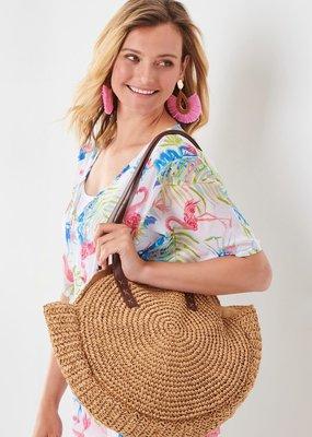 Charlie Paige Round Handbag