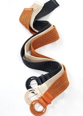 Charlie Paige Woven Belt