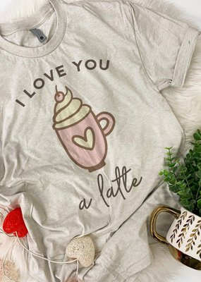 Raining Rustic I Love You A Late Tee