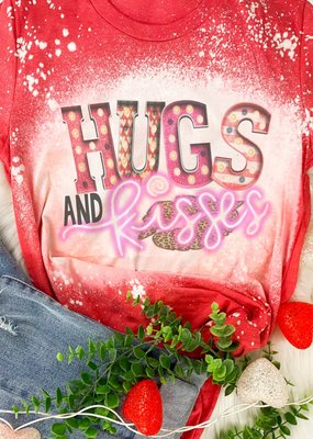 Raining Rustic Hugs & Kisses Tee
