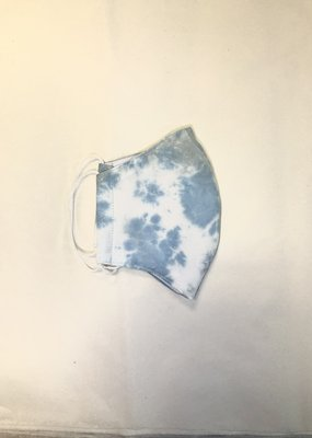 Kenze Penne Tie Dye Mask-Light Blue