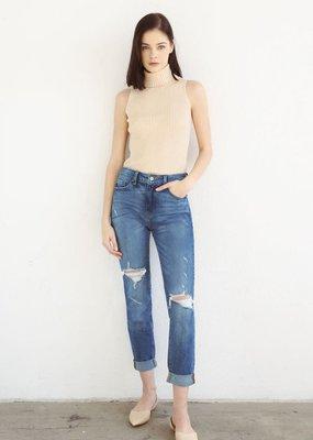 Kancan Gemma High Rise Cuffed Jean