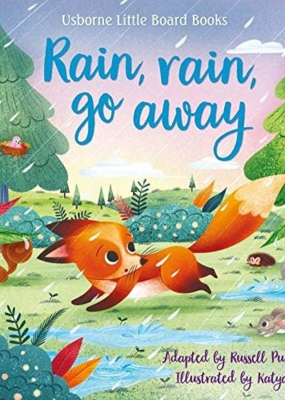 McManemin Companies Little Board Book-Rain, Rain Go Away