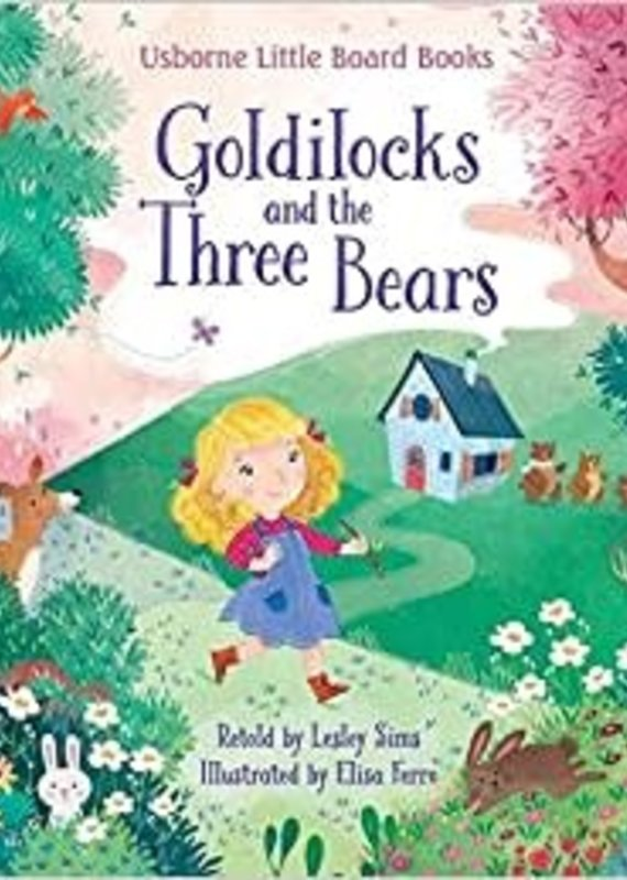 McManemin Companies Little Board Book-Goldilocks and the Three Bears