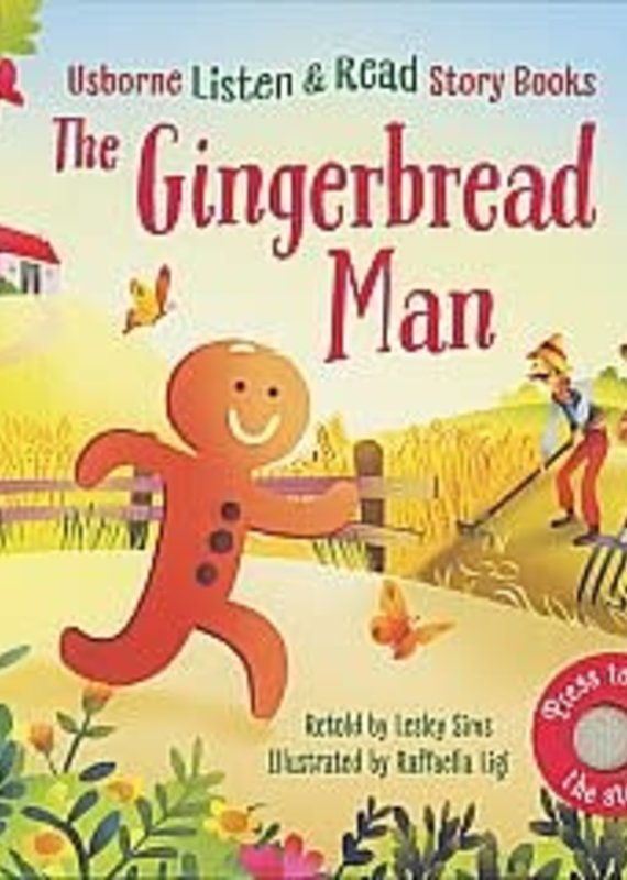 McManemin Companies Listen & Read-The Gingerbread Man