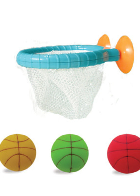 EDU Shape Bath-Ketball Set