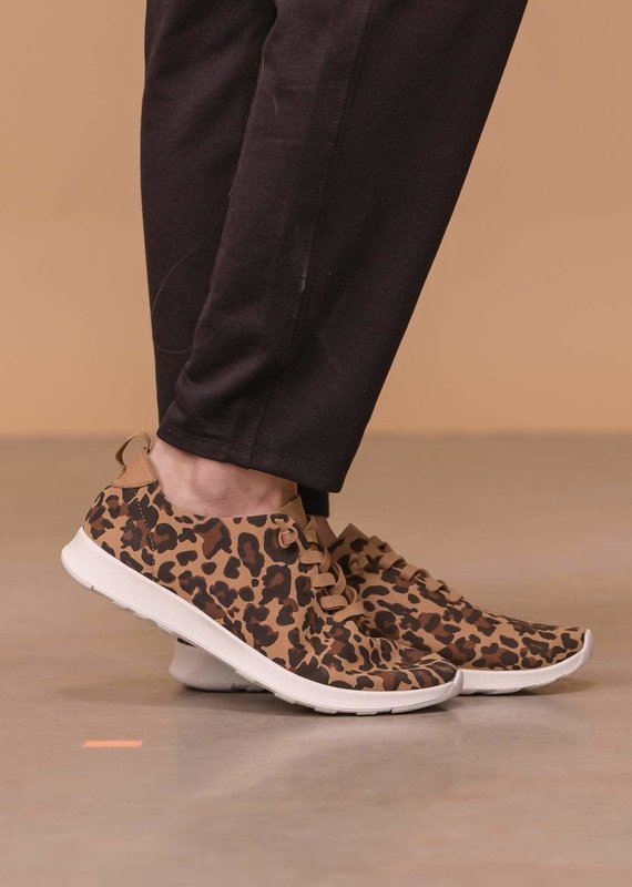 Naughty Monkey Leopard Mayo Sneakers
