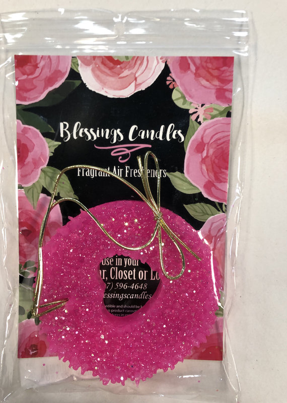 Blessing Candles Air Freshener-Pink Sangria