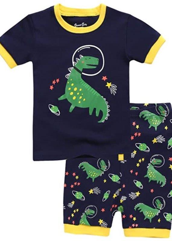 Vaenait Baby Space Dino Pajama Set