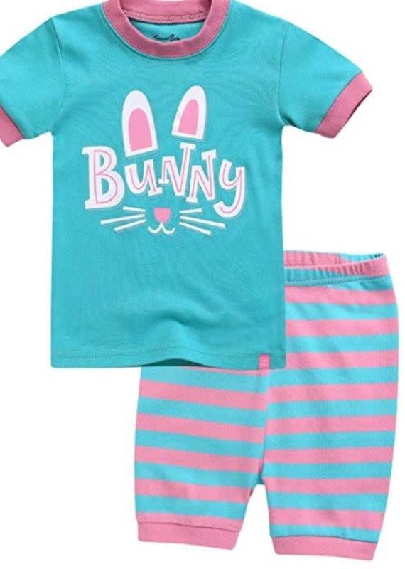 Vaenait Baby Bunny Buddy Pajama Set