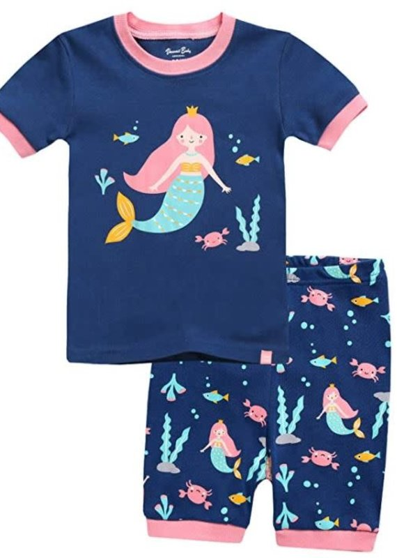 Vaenait Baby Mermaid Pajama Set