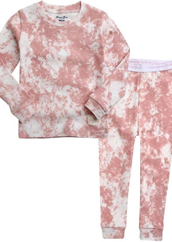 Vaenait Baby Prism Pink Pajama Set