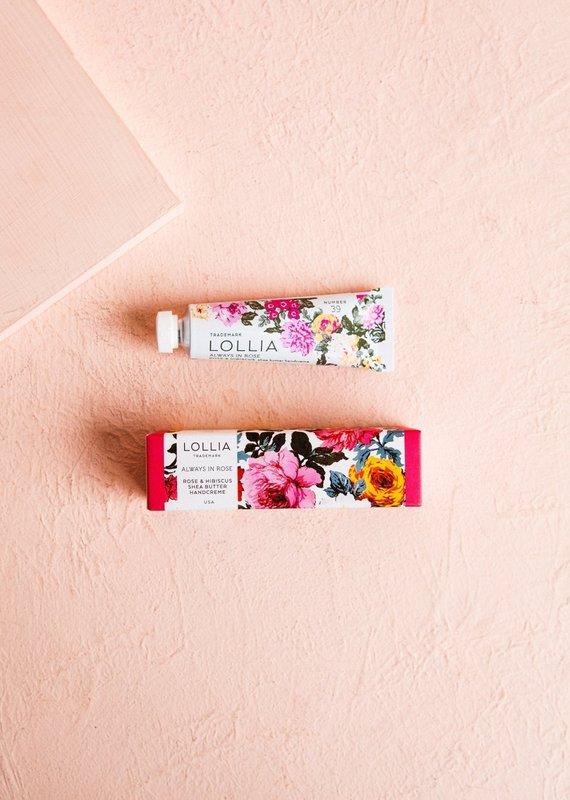 Lollia Always in Rose Petite Treat Handcreme