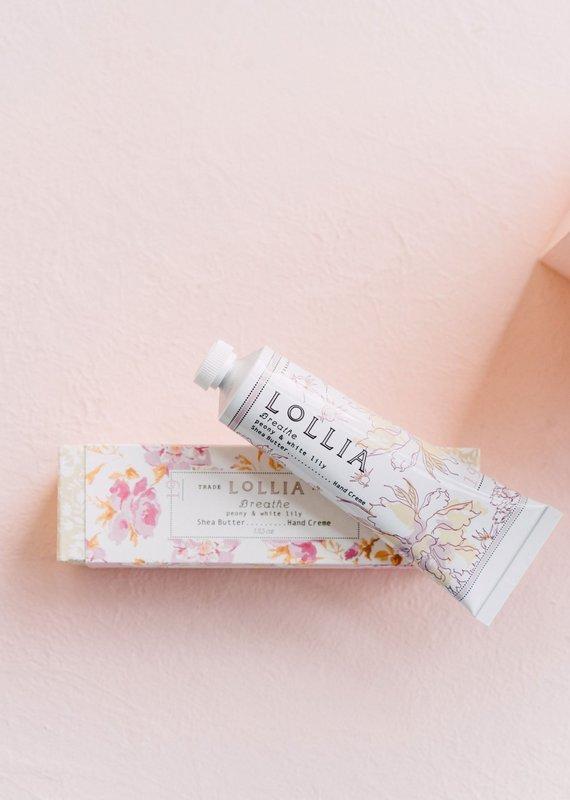 Lollia Breathe Travel Size Hand Creme