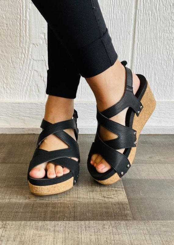 Corky's Shore Shoe-Black