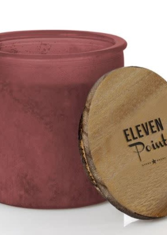 Eleven Point Tipsy River Rock Red