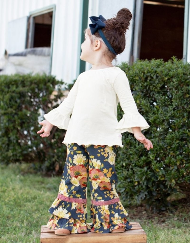 Rufflebutts Blossom Bliss Ruffle Pants