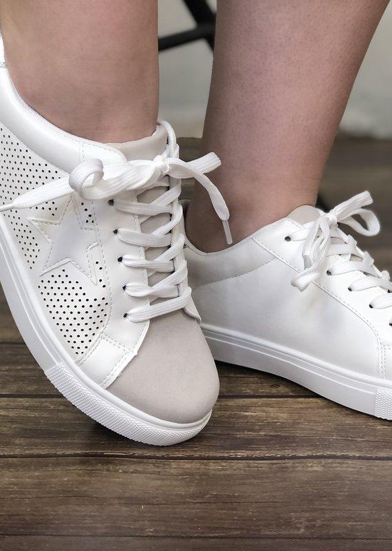 Pierre Dumas Silver Star Sneaker