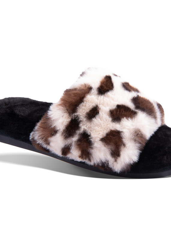 Amanda Blu She is Calm Leopard Slipper