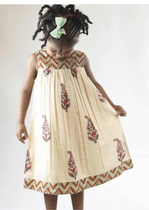 Yo Baby Floral Maxi Dress-3Y