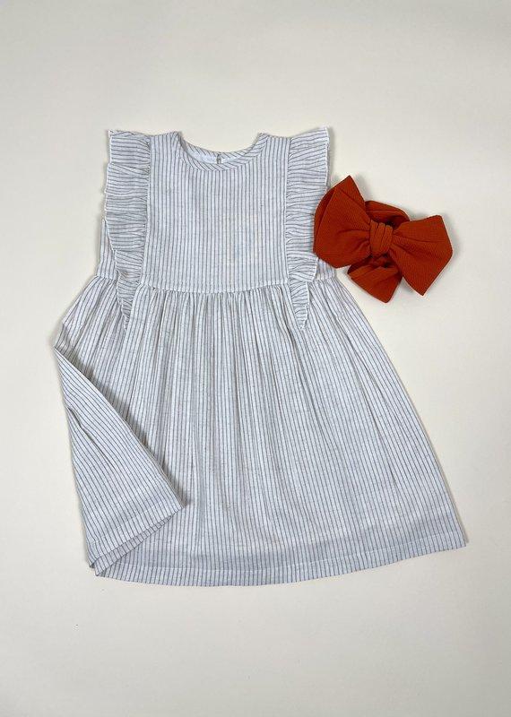 Yo Baby Run Away Pin Stripe Dress